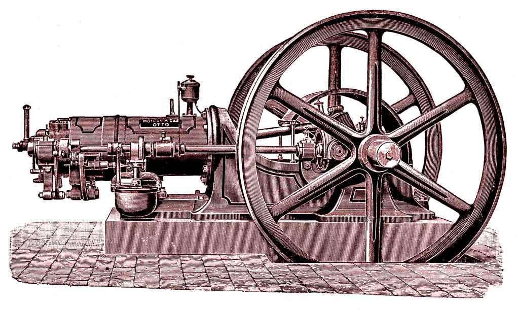 Двигатель внутреннего сгорания Николауса Отто