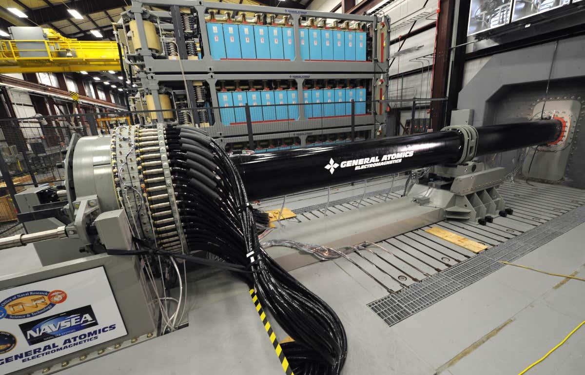 ВМС США убирает в дальний ящик создание Railgun - 2
