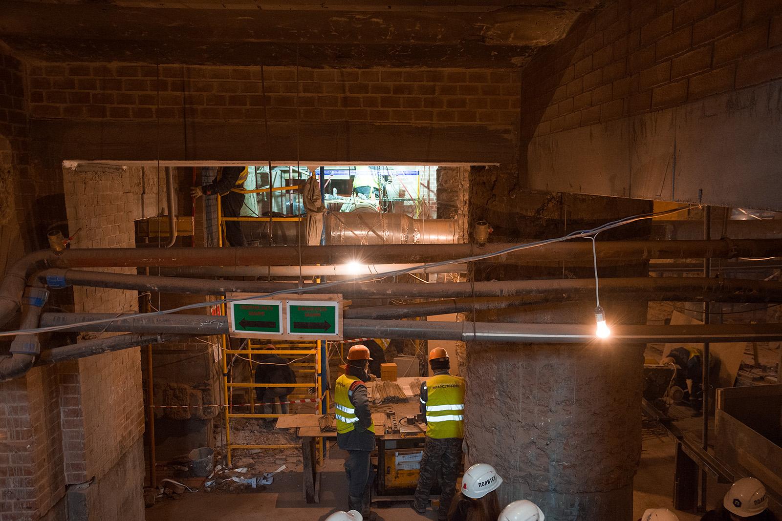 Как идёт реконструкция Политехнического музея? Часть 1 - 20