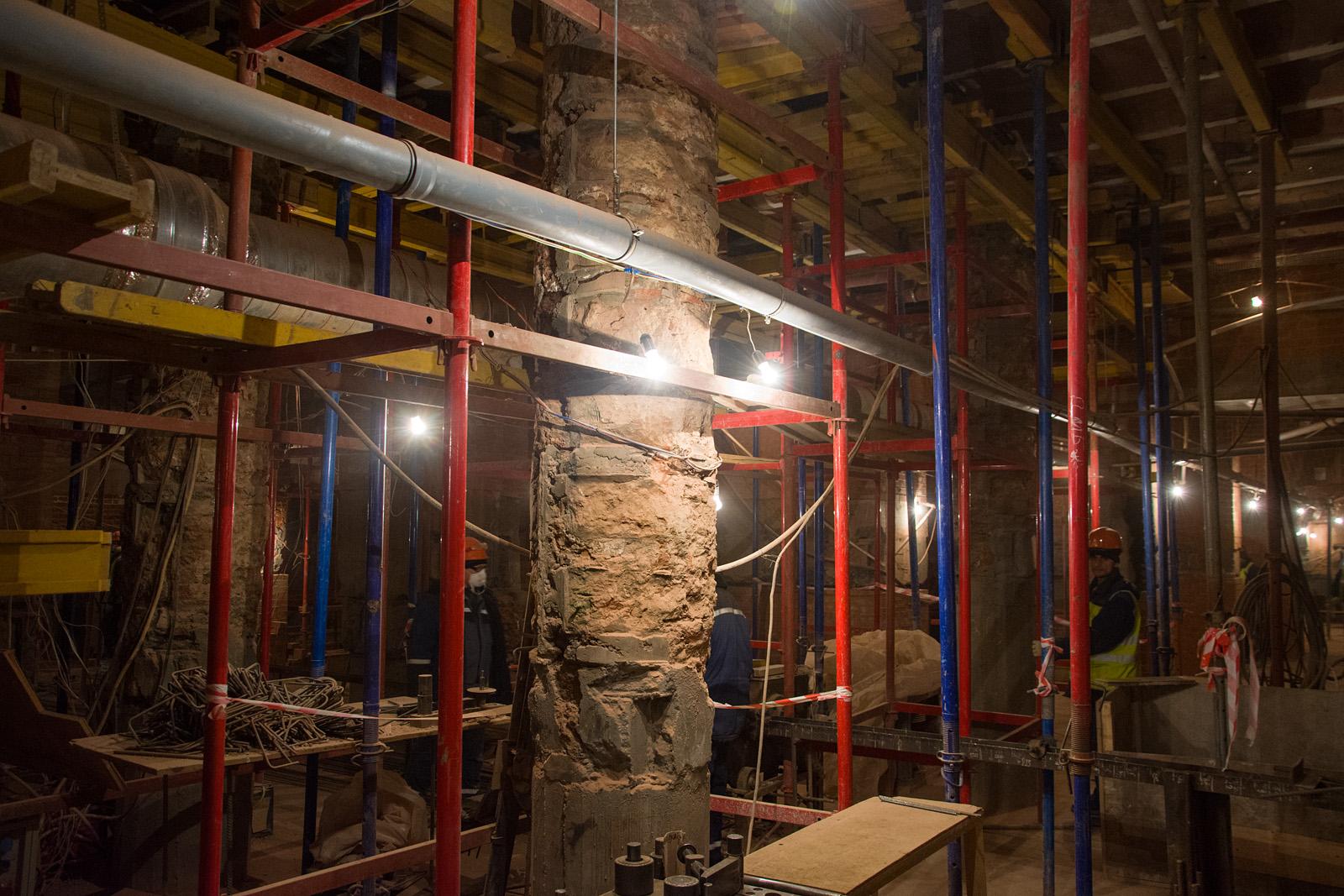 Как идёт реконструкция Политехнического музея? Часть 1 - 21