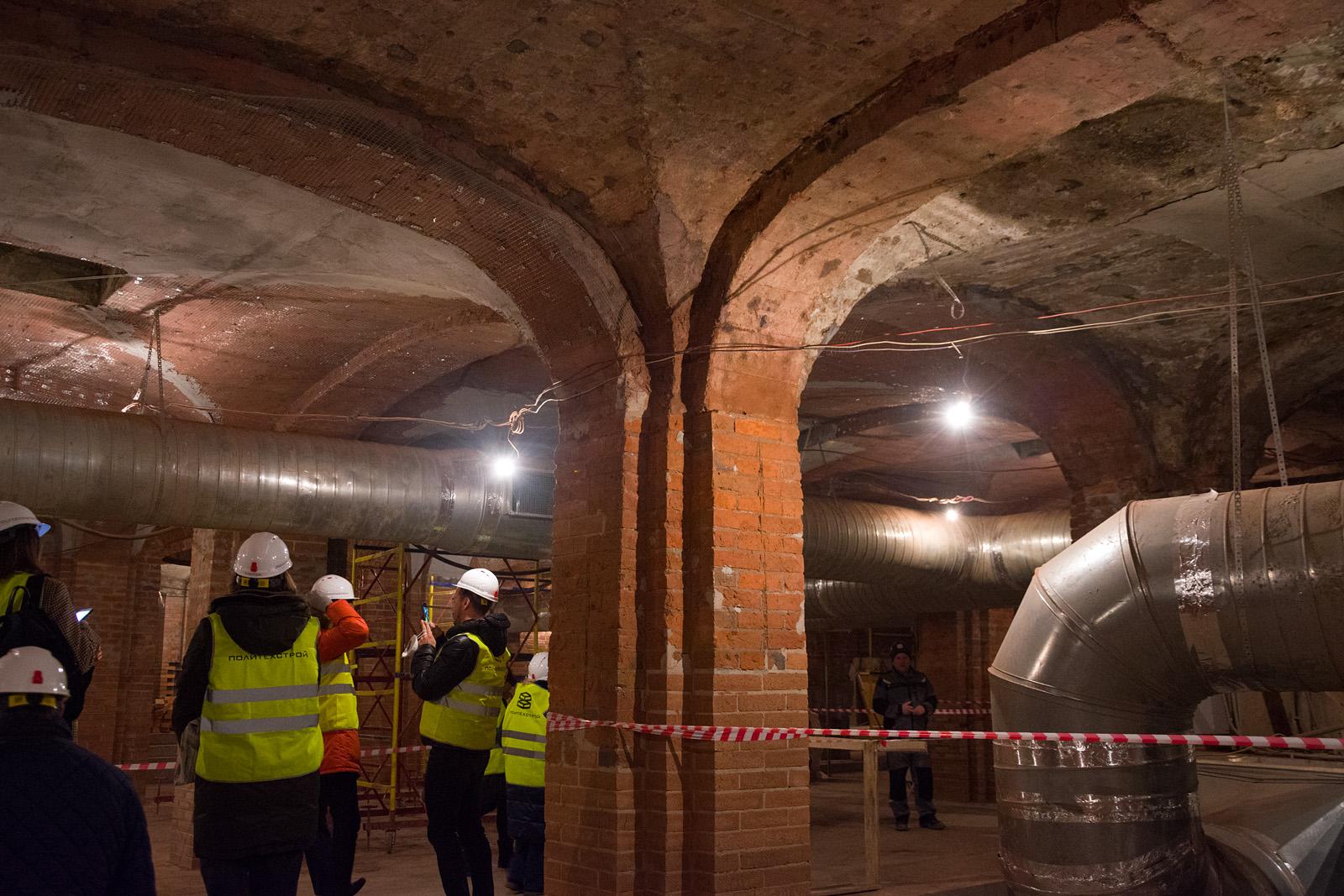 Как идёт реконструкция Политехнического музея? Часть 1 - 23