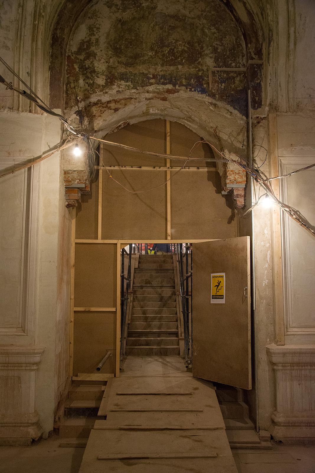 Как идёт реконструкция Политехнического музея? Часть 1 - 29