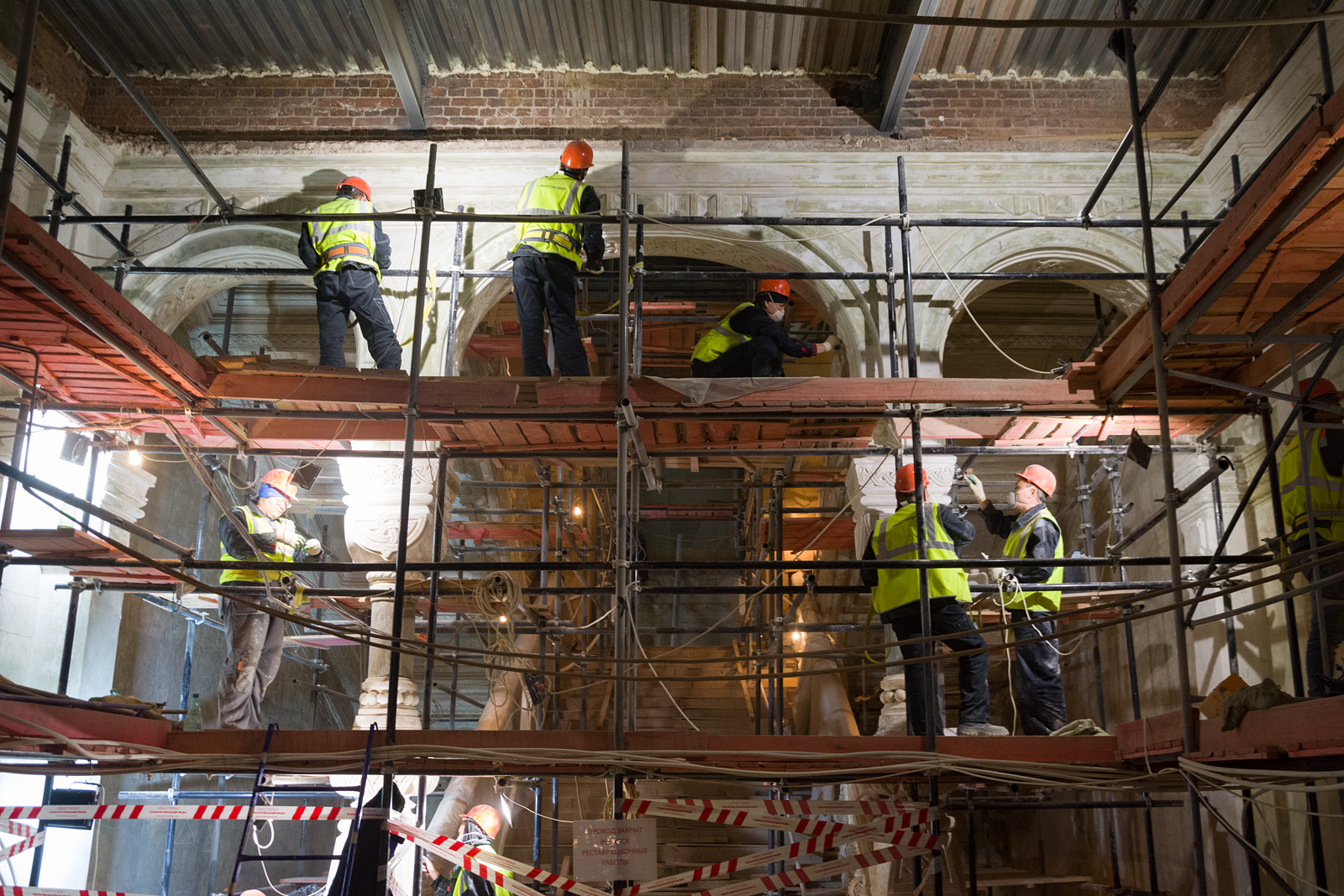Как идёт реконструкция Политехнического музея? Часть 1 - 30
