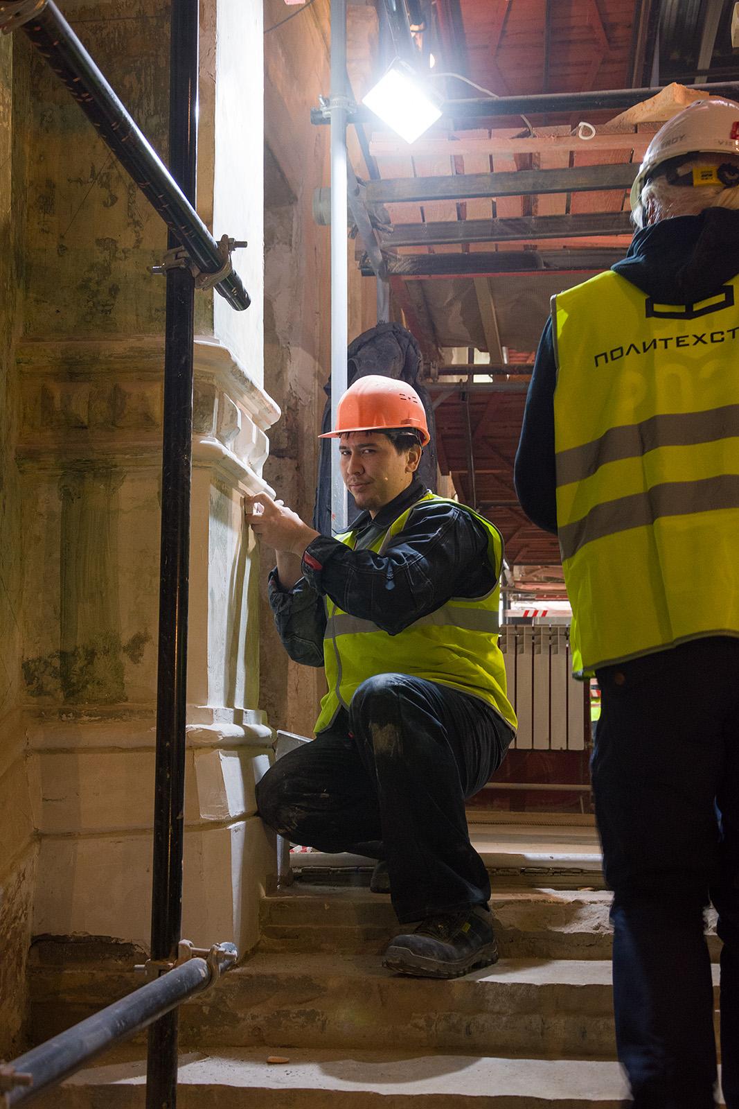 Как идёт реконструкция Политехнического музея? Часть 1 - 31