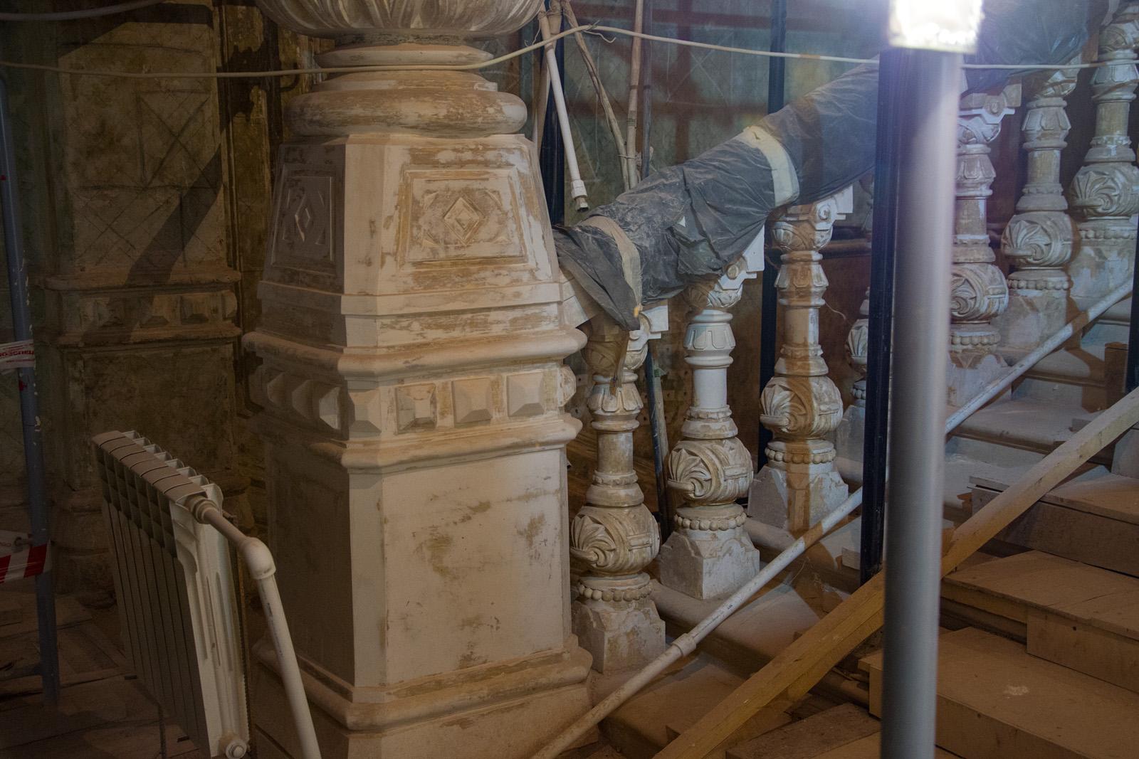 Как идёт реконструкция Политехнического музея? Часть 1 - 33