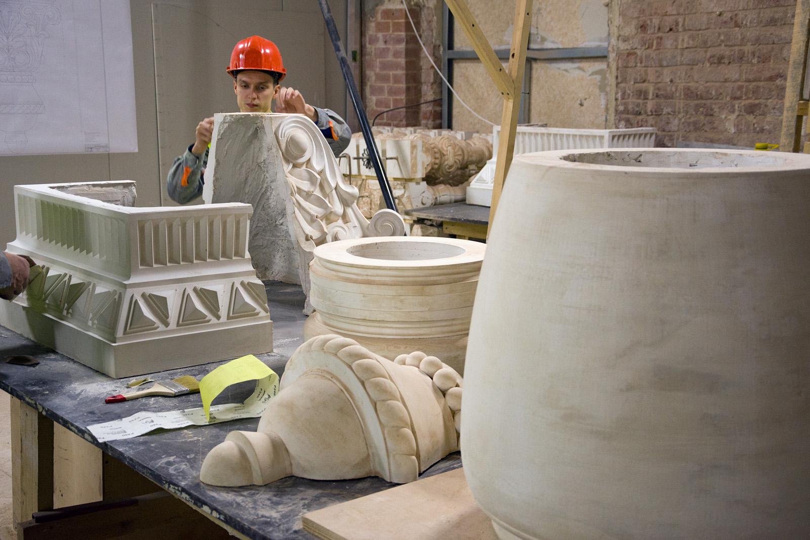 Как идёт реконструкция Политехнического музея? Часть 1 - 35