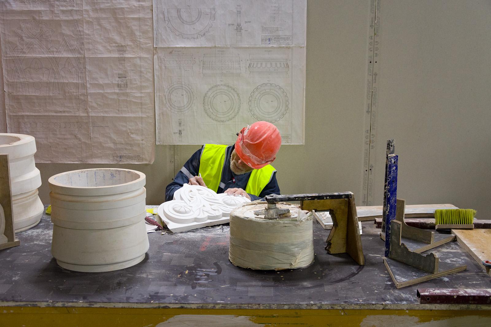 Как идёт реконструкция Политехнического музея? Часть 1 - 36
