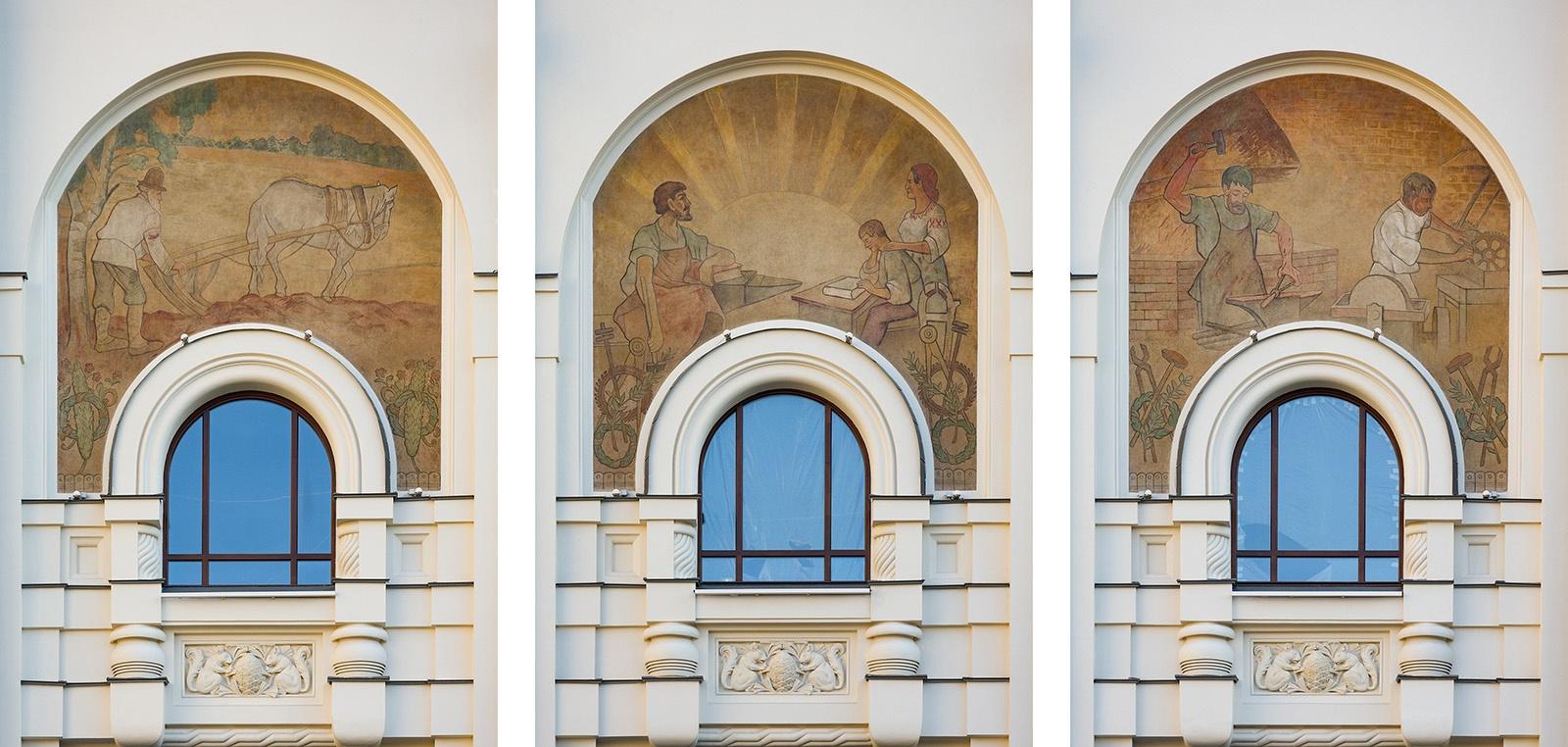 Как идёт реконструкция Политехнического музея? Часть 1 - 38