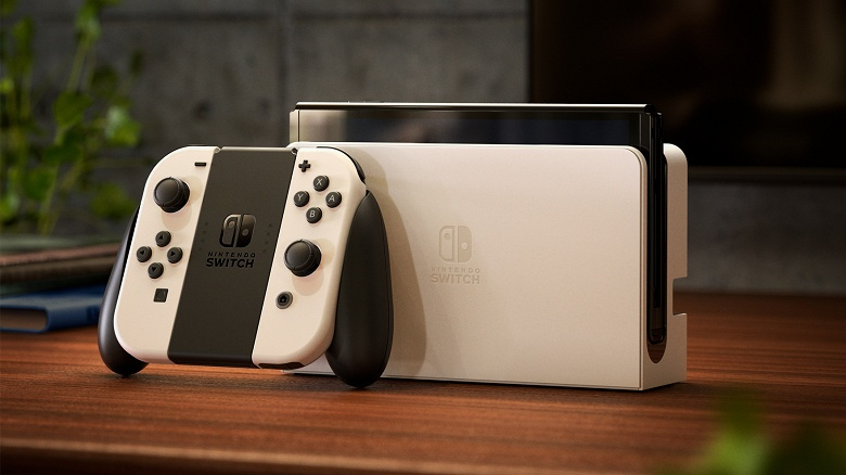 Появилось первое видео с распаковкой Nintendo Switch OLED