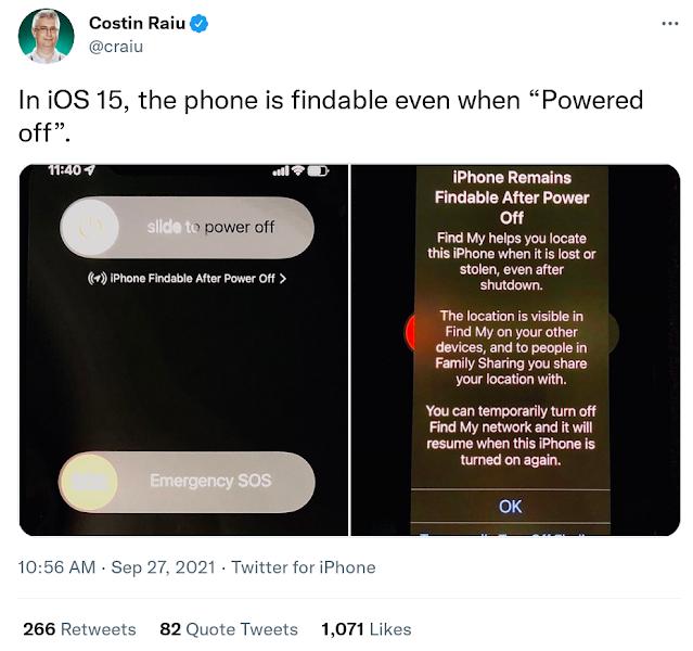 iOS 15 позволяет находить даже выключенный iPhone: как это сделано и есть ли опасность - 2