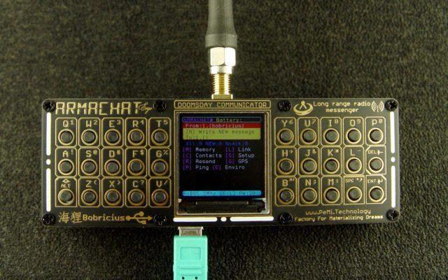 Коммуникатор судного дня «Armachat» LoRa - 2