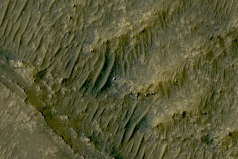 НАСА прекратило связь со всеми аппаратами на Марсе. Опубликовано последнее фото марсохода Perseverance с орбиты перед вынужденным перерывом