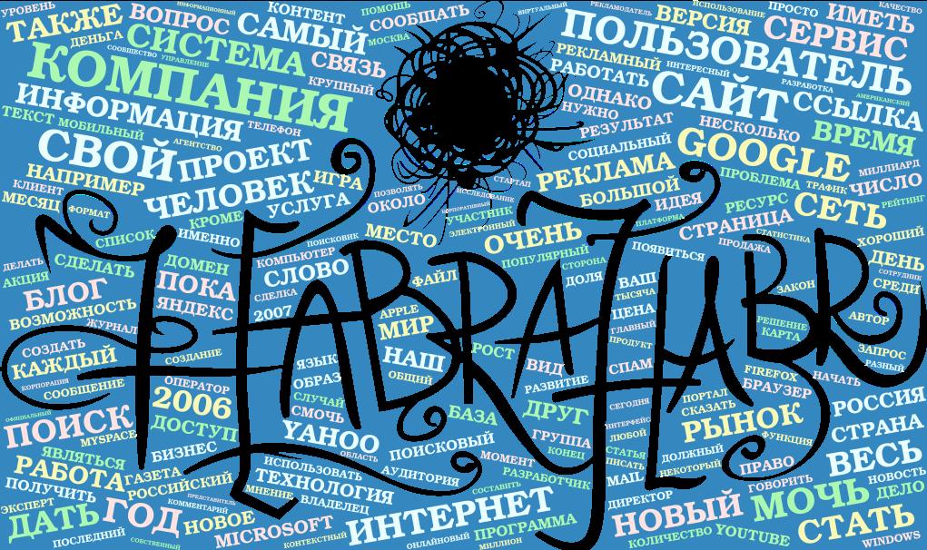 Анализ статей Хабрахабр - 1