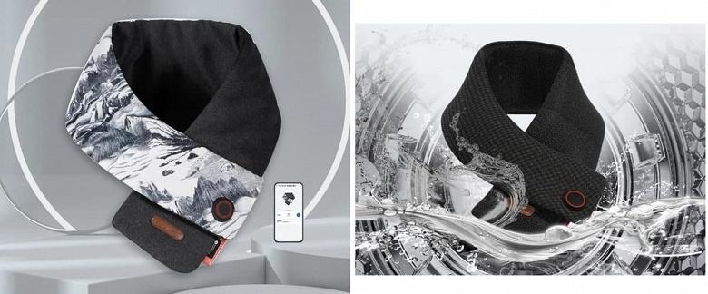 В магазинах Huawei появился умный шарф Fengmi с функцией нагрева, который можно стирать в стиральной машине