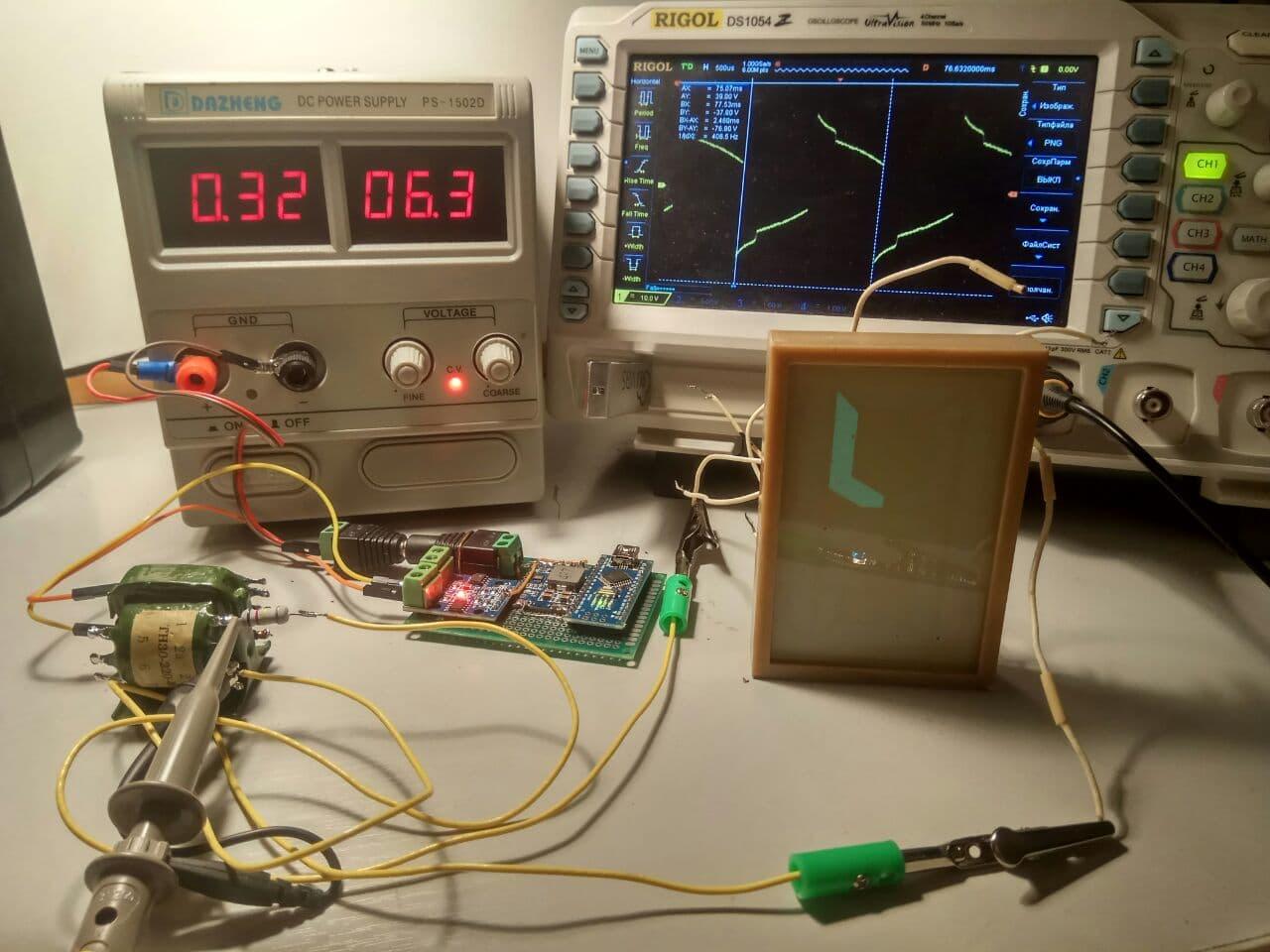 Способы питания электролюминесцентных индикаторов - 1