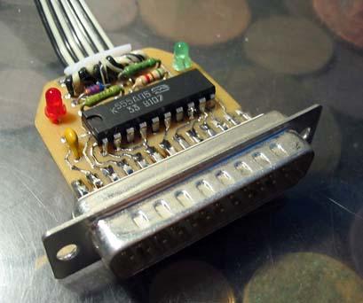 Электроника для начинающих / [Из песочницы] LPT программатор для AVR