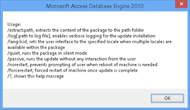 32 битный Excel и 64 битный SQL Server