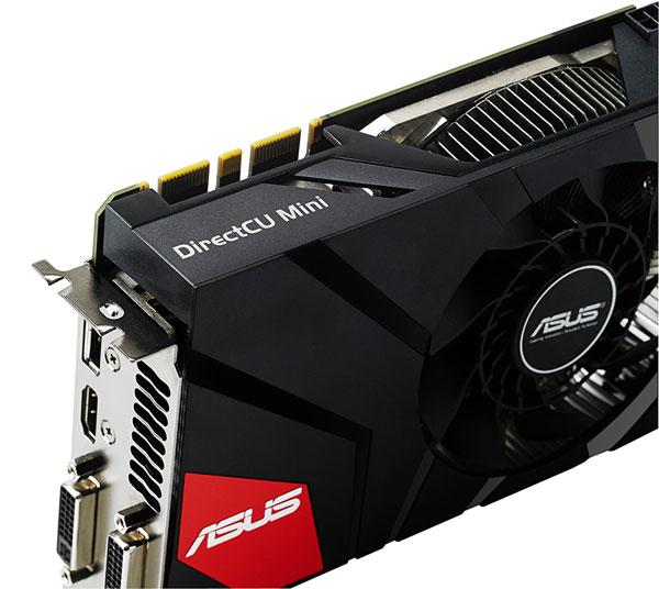 Графический процессор Asus GeForce GTX 670 DirectCU Mini работает на частоте 928 МГц
