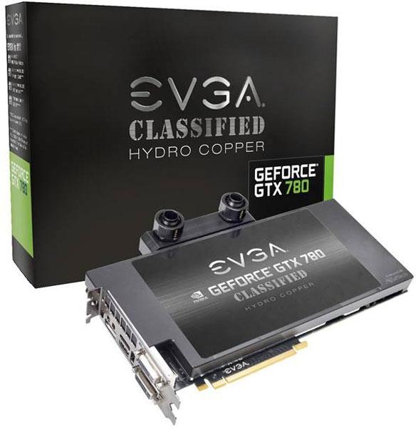 Дата начала продаж 3D-карт EVGA GTX 780 Hydro Copper и GTX 780 Classified Hydro Copper пока не названа