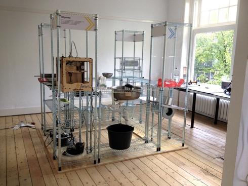 3D печать: 3 часа на дизайнерское кресло