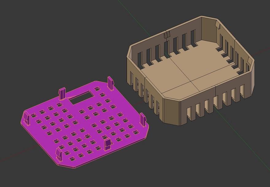 3D печатный корпус для DIY диммера