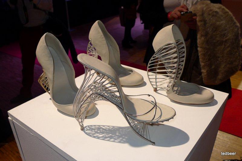 3D принт шоу в Париже из первых рук