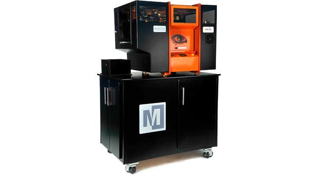 3D принтер, создающий цветные модели из бумаги