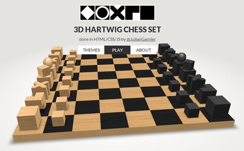 3D шахматы на HTML / CSS3 / JS
