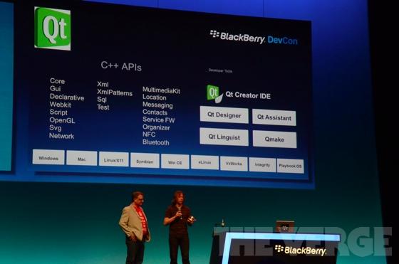 Mobile Development / Приложения для BlackBerry Playbook можно будет писать на Qt