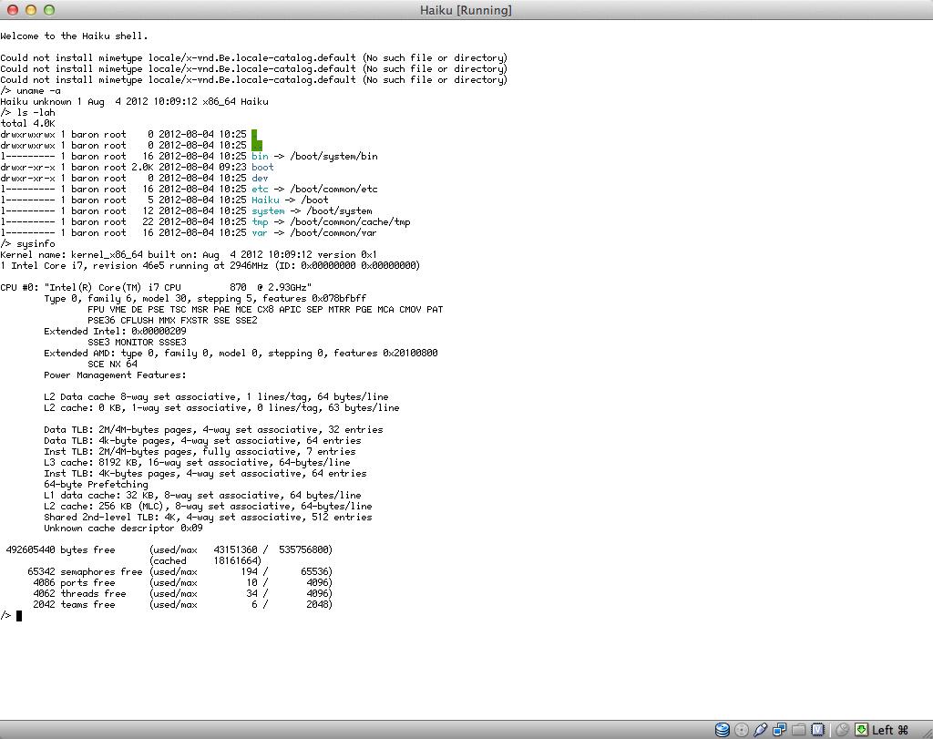 64 битная Haiku и порт OpenJDK уже не за горами