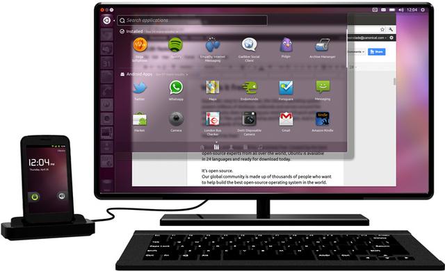 Убунтариум / Canonical представила Ubuntu for Android