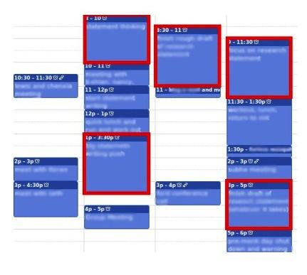 GTD / [Перевод] GCTD – Как привести творческие дела в порядок: как уместить тяжелый умственный труд в плотное расписание