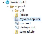 MyWebApp.war в структуре проекта