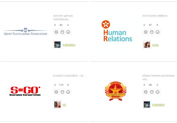 Типографика / Блоги про логи на DesignTree.ru