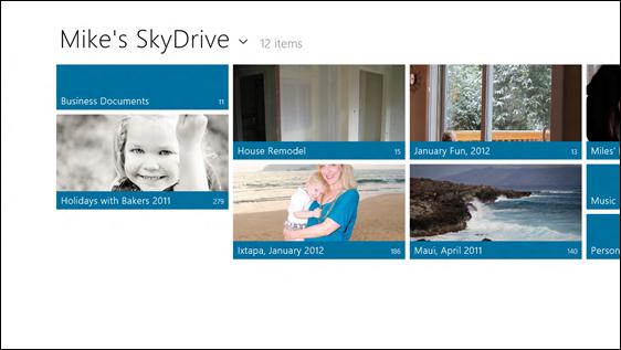 Облачные вычисления / SkyDrive в Windows 8