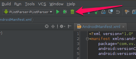 ADB Uninstall плагин для Android Studio (Intellij IDEA)