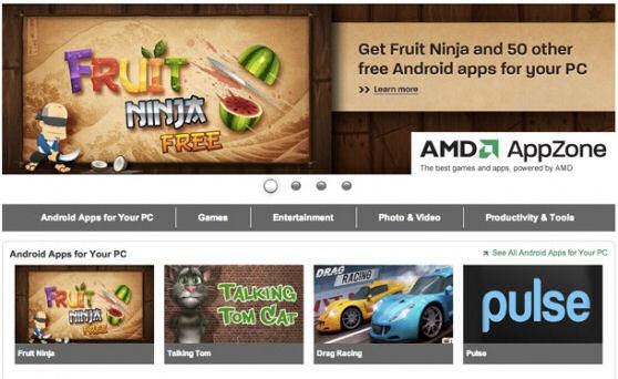 AMD сделала свой магазин Android приложений… для Windows