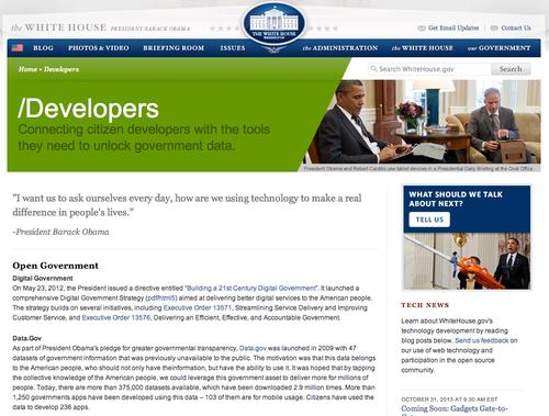 API для Российской общественной инициативы. Шаг 2.2: опыт США в работе с данными электронных петиций — API Белого Дома