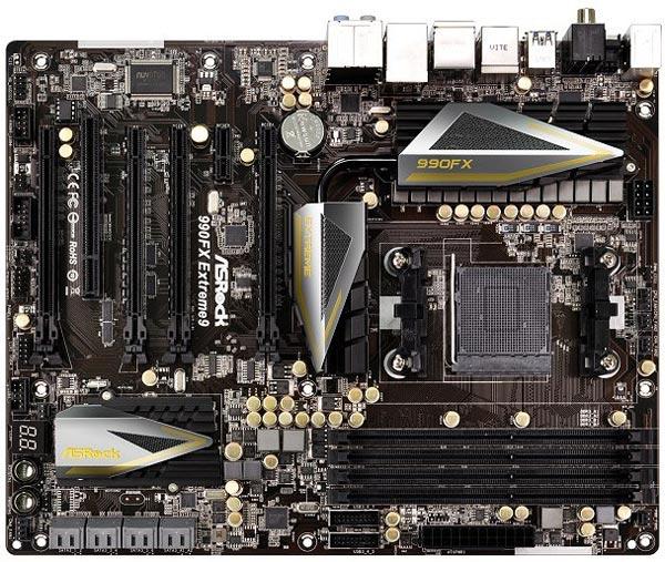В оснащение ASRock 990FX Extreme9 входит сетевой порт Gigabit Ethernet