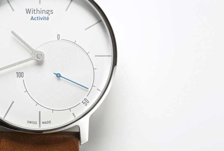 The Activité has a stainless steel casing and a  sapphire glass front