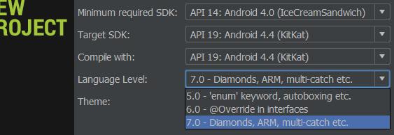 Android идет в сторону Java 7