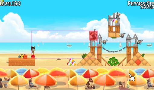 Angry Birds. В поисках встроенного редактора уровней