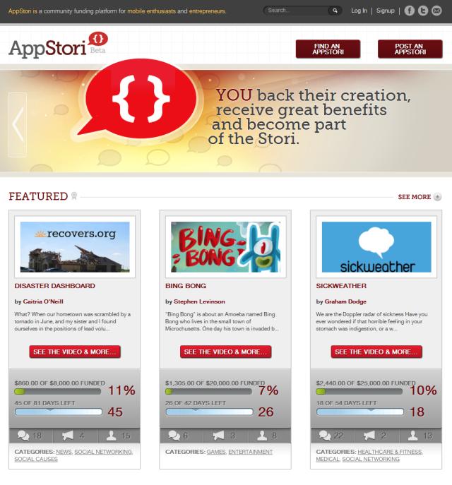 AppStori — Kickstarter для мобильных приложений