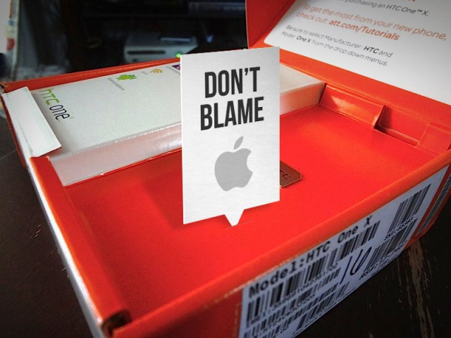 Apple не смогла запретить импорт новых моделей HTC