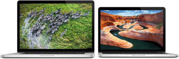 Цены на 13-дюймовый MacBook Pro Retina стартуют с отметки $1499