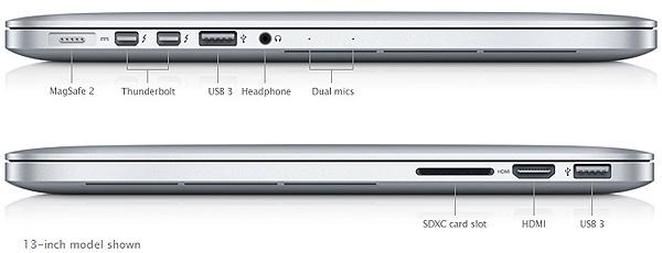 Apple MacBook Pro 13 с дисплеем Retina