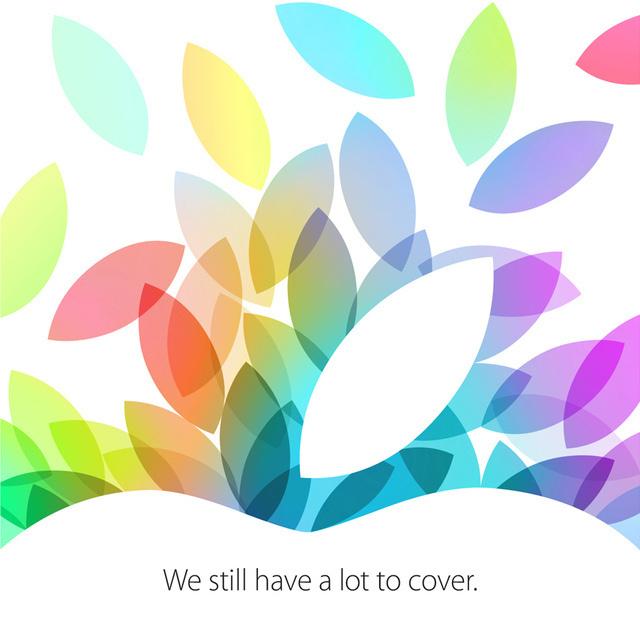 Apple приглашает посмотреть на новые продукты 22 октября