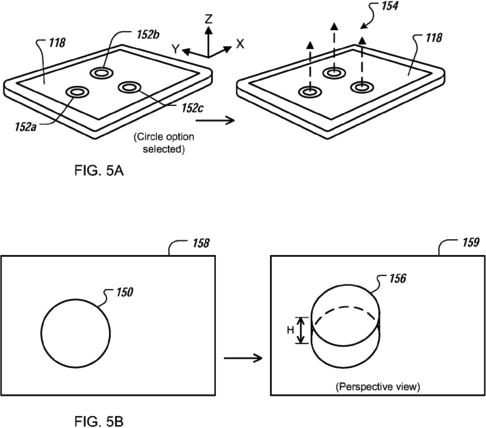 Apple запатентовала 3D управление при помощи жестов на сенсорных экранах