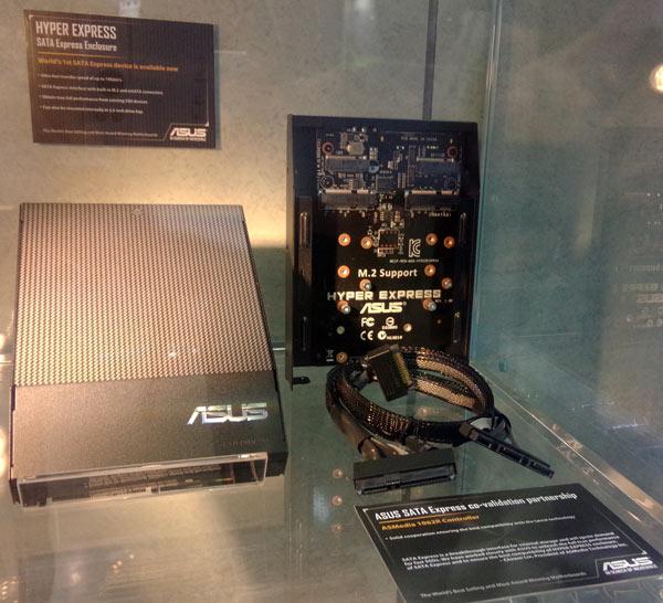 Основой «переходника» Asus Hyper Express служит контроллер ASMedia 1062R