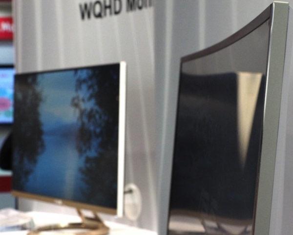 Asus называет показанный прототип самым большим в мире вогнутым монитором со светодиодной подсветкой